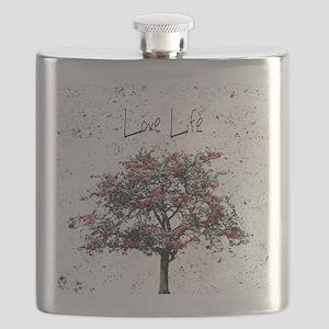 Love Life Flask