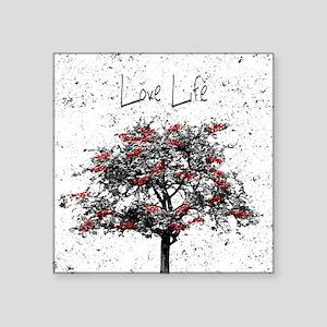 """Love Life Square Sticker 3"""" x 3"""""""