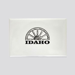 Idaho spots on trail Magnets