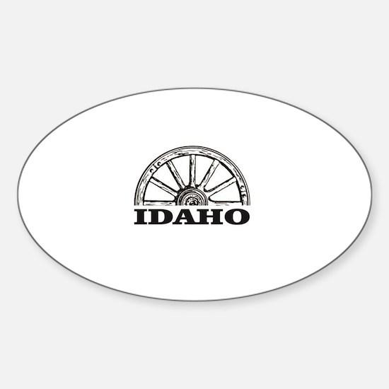 Idaho spots on trail Decal