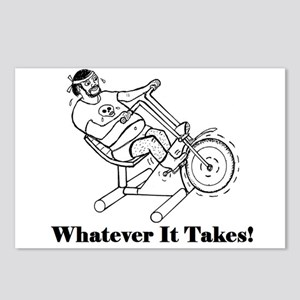 WHATEVER IT TAKES! Postcards (Package of 8)
