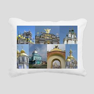 Ukraine Rectangular Canvas Pillow