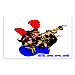 Band Design Rectangle Decal
