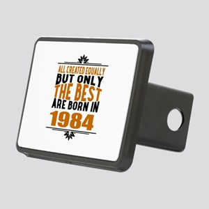The Best Are Born In 1984 Rectangular Hitch Cover