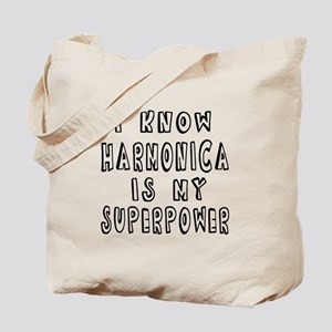 Harmonica is my superpower Tote Bag