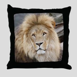 Lion20150802 Throw Pillow