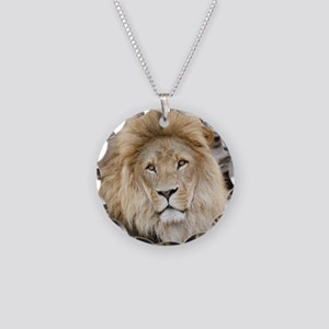 Lion20150802 Necklace Circle Charm