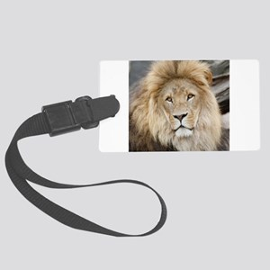 Lion20150802 Large Luggage Tag