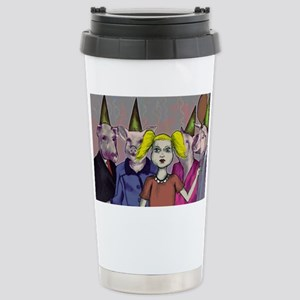 Pigs and kids Stainless Steel Travel Mug