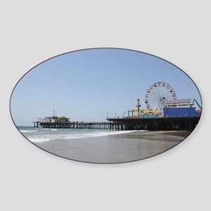 Santa Monica Pier Sticker