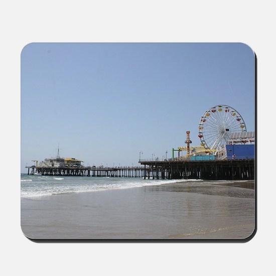 Santa Monica Pier Mousepad