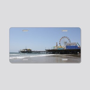 Santa Monica Pier Aluminum License Plate