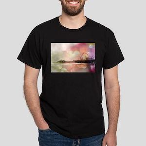 Pink Santa Monica Pier T-Shirt