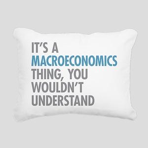 Macroeconomics Thing Rectangular Canvas Pillow