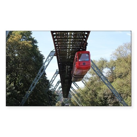 Wuppertal Floating Train Sticker