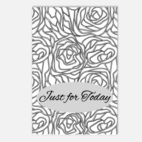 Just For Today Postcards (package Of 8)