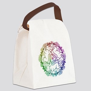 3 Hares Canvas Lunch Bag