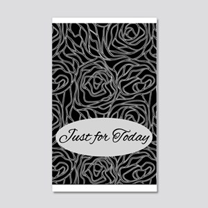 Just For Today 20x12 Wall Decal