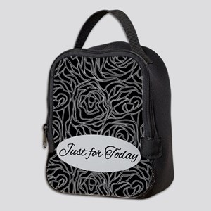 Just For Today Neoprene Lunch Bag