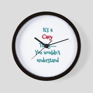 Cavy Thing Wall Clock