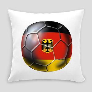 German Soccer Ball Everyday Pillow