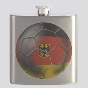 German Soccer Ball Flask