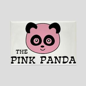 pink panda Magnets