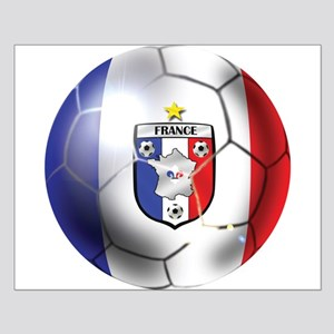 French Soccer Ball Posters