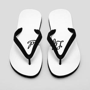 0314f314b Lifeguard Flip Flops - CafePress