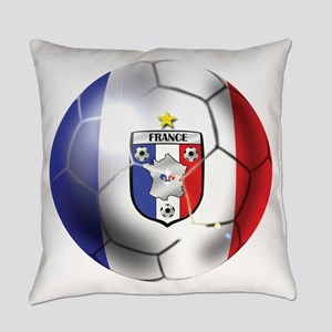 French Soccer Ball Everyday Pillow