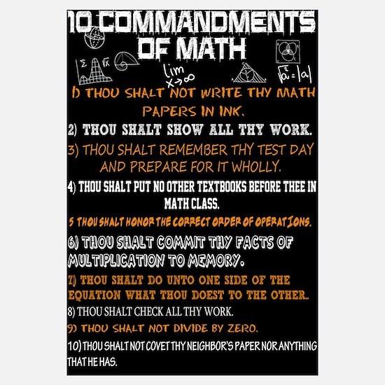 Math 10 Commandments