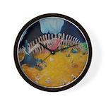 Dragon Gold Wall Clock