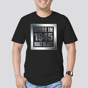 1945 Built To Last Men's Fitted T-Shirt (dark)