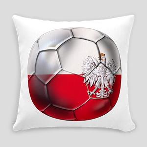 Poland Football Everyday Pillow
