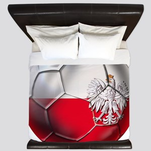 Poland Football King Duvet