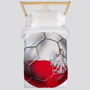 Poland Football Twin Duvet