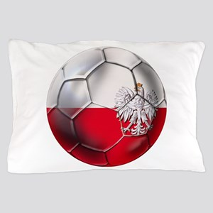 Poland Football Pillow Case