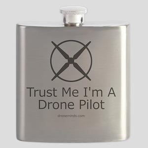 Trust Me I'm A Drone Pilot Flask