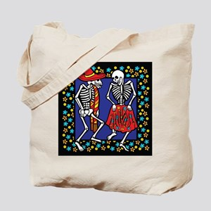 Day Of The Dead Dancers Tote Bag