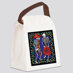 Day Of The Dead Dancers Canvas Lunch Bag