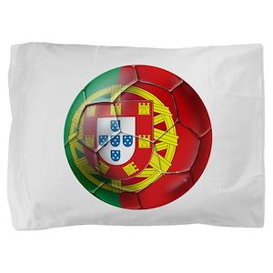 Portuguese Football Soccer Pillow Sham