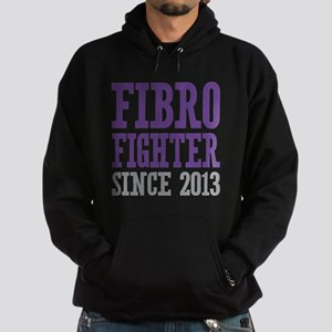 Fibro Fighter Since 2013 Hoodie (dark)