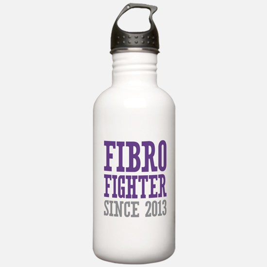 Fibro Fighter Since 20 Water Bottle