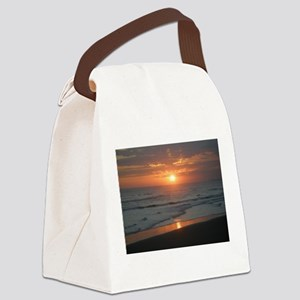 bali sunset 1 Canvas Lunch Bag