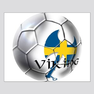 Sweden Soccer Ball Posters