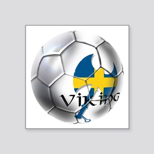 Sweden Soccer Ball Sticker