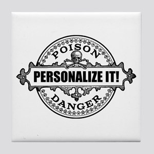 personalized poison Tile Coaster