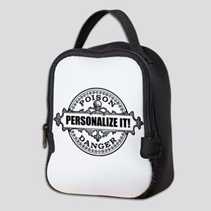 personalized poison Neoprene Lunch Bag