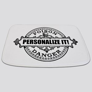 personalized poison Bathmat