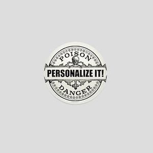 personalized poison Mini Button